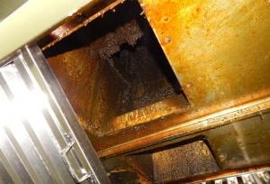 Очистка систем вентиляции от жировых отложений клининговой компанией